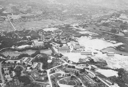 昭和37年の豊中キャンパス