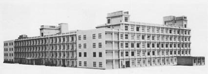 昭和43年当時の基礎工学部学舎