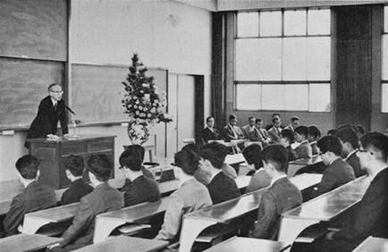 昭和39年度大学院入学宣誓式より