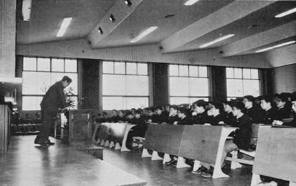 当時の大講義室の風景